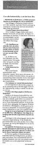 Intervju Morgenbladet